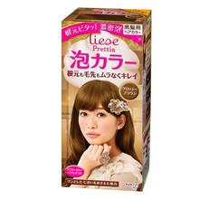 DIY染发# 花王KAO Liese Prettia 泡沫染发剂棕色 192g*3件 97.3元包邮(87+10.3)