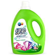 绿伞 去污超人洗衣液 3kg 折15.9元(买2免1)