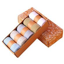 旺贝特 儿童纯棉袜礼盒装 5双  9.8元包邮+10淘金币