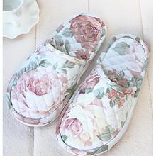 清新棉拖# 立靓 软底室内加厚防滑棉布拖鞋  5.3元包邮(10.3-5券)