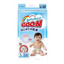 柔软透气# GOO.N大王 维E系列纸尿裤L54片*2包 154.42元包邮(138+16.42)