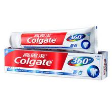 高露洁 360°全面口腔健康牙膏 200g 折9.9元(买2免1)