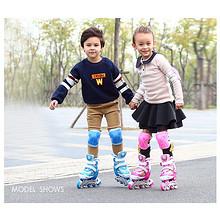 贵派仕 儿童全套直排轮旱冰轮滑鞋 79元包邮(119-40券)