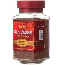 UCC 悠诗诗 职人大师咖啡 红标瓶装 90g 折27.7元(49.9,199-100)