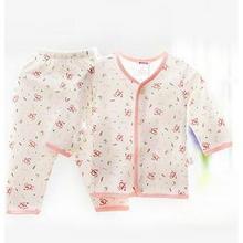 北极绒 婴儿纯棉内衣套装 14.9元包邮(19.9-5券)