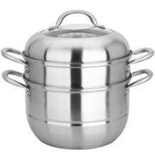 MAXCOOK 美厨 雅银系列 不锈钢二层蒸锅 26cm 69元(可199-100)