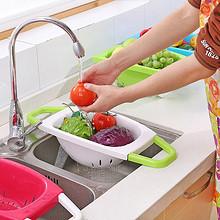 厨房新品# 科瑞 塑料沥水篮 12.8元包邮(15.8-3券)