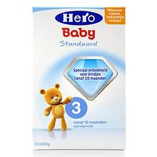荷兰 Hero Baby 美素 婴儿奶粉 3段 800g*4盒 279元包邮
