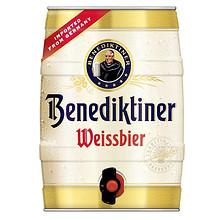德国进口啤酒 Benedikeiner 百帝王 小麦啤酒 5L 49元