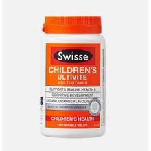 Swisse 儿童复合维生素咀嚼片 120片*2瓶132元(152-20券)