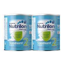 Nutrilon 诺优能 荷兰铁罐牛栏奶粉 2段 800g*2罐 144元包邮(149-5券)