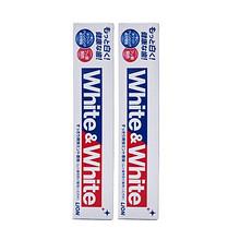 狮王 WHITE 美白牙膏 150g*2支 19.9元
