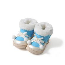琪比小美屋 婴儿加绒防滑学步鞋 9.9元