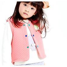 俞兆林 儿童保暖加厚纯棉马甲背心 24元包邮(39-15券)