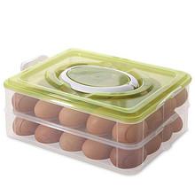 蛋蛋的家# 南峰 冰箱收纳保鲜鸡蛋盒子 40格  16.9元包邮(19.9-3券)