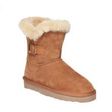 双12提前购物车# Style&co. 麂皮保暖雪地靴  169元