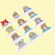艾乐果 儿童4层纯棉纱部口水巾 4条 22.9元包邮(37.9-15券)