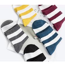 1.5元/双#  亚鹏 男女高帮中筒棉袜 5双 折7.4元(双重优惠)