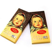 双12提前购物车# 阿伦卡 大头娃娃牛奶夹心巧克力 100g×4块 39元包邮