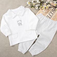 纯生态棉# 心适家园 婴儿纯棉保暖内衣套装 19.9元包邮(29.9-10券)