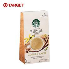 前10分钟# Starbucks 星巴克 香草拿铁咖啡 5包*2件 12日0点 129元包邮(第二件0元)