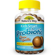 Nature's way 佳思敏 儿童益生菌巧克力球 50粒 折66元(196+14-78)