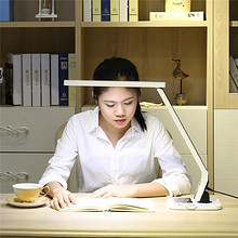 健康护眼# 品川 LED无频闪护眼台灯 8W 58元包邮(98-40券)