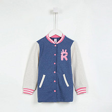 双12提前购物车# C&A 女童植绒贴布棒球服 59元