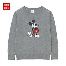 双12提前购物车# UNIQLO 优衣库 男女童圆领针织衫 79元