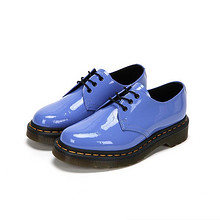 0点开抢# Dr.Martens 3孔系带漆皮皮鞋 279元包邮(299-20券)