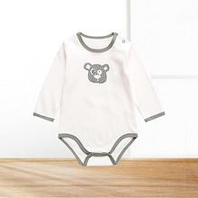 六款可选# 知了熊 婴儿薄款长袖包屁连体衣 14.9元包邮(19.9-5券)