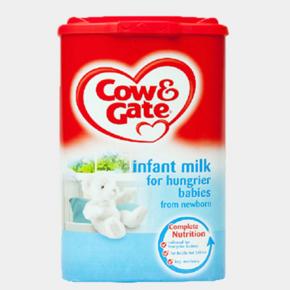 英国牛栏Cow&Gate 大食量婴幼儿奶粉 900g*2