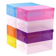 正浦艾洛兰 加厚透明抽屉鞋盒 10个装 10.3元包邮(13.3-3券)