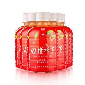 冠芳 山楂汁饮料350ml*6瓶 17元包邮(22-5券)