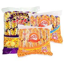 前5分钟# 咪咪 虾条3口味零食大礼包1360g 19点 24.8元包邮(29.8-5)