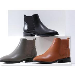 百搭美靴# 珂卡芙 女士冬季平底尖头马丁靴 109元包邮(169-60券)