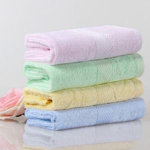 竹天帛 竹纤维洗脸毛巾 4条装