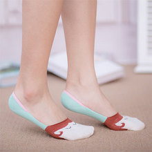 单鞋必备# LIMAX 女士浅口船袜 5双装  10元包邮(13-3券)