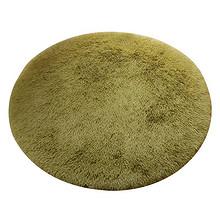 温馨舒适# 佳瑞 欧式圆形丝毛地毯 101cm 15元包邮(18-3券)