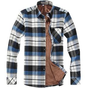 波司登 男士保暖加绒加厚衬衫
