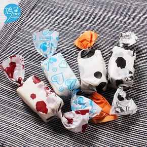 牛轧糖包装纸 包装油纸 100张 3.8元包邮