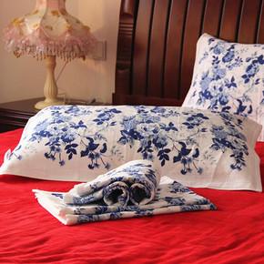 英之家 双层棉质纱布枕巾  8.9元包邮