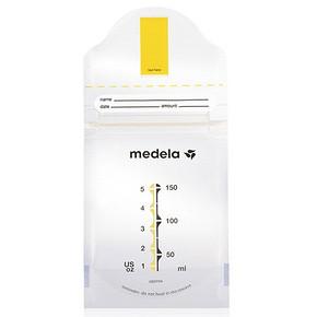 Medela 美德乐 储奶袋 5片装 9.9元