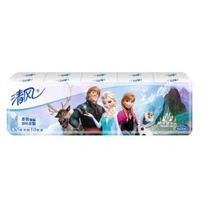 清风 冰雪奇缘系列3层8张纸手帕*10包 3.9元(2件起购)