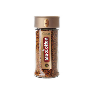 马来西亚进口 MacCoffee 美卡菲 冷冻干燥速溶咖啡 100g 19.9元