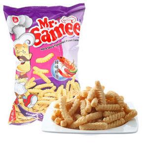 马来西亚进口 Mr.Samee 三美先 辣味虾条 70g 6.5元