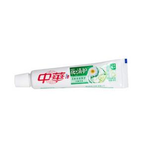 中华 花清护百合味牙膏 40g 0.1元