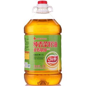 仙餐 纯香压榨 菜籽油 非转基因食用油 4L  49.9元