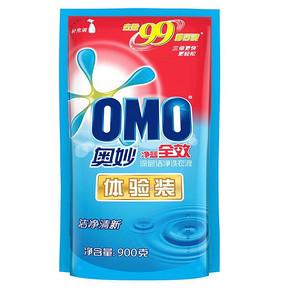 限地区# 奥妙 净蓝全效深层洁净洗衣液 900g*2袋 13.9元(买2付1)
