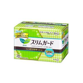 日本 花王 乐而雅 日用卫生巾 20.5cm*28片 23.4元(19.9+3.5)